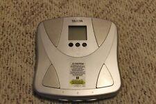 Tanita BF-679 body fat analyzer scale.