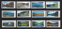 China Taiwan 2014 2017 2018 高山湖泊 Alpine Lakes of Taiwan No 1 2 3 Stamp Mountain