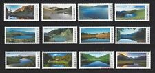 China Taiwan 2014 2017 2018 高山湖泊 Alpine Lakes of Taiwan  Series No 1~3 Stamp