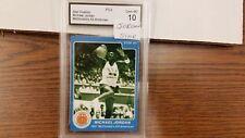 1985 STAR MICHAEL JORDAN MCDONALDS 1981 BASKETBALL CARD GRADED MINT 10
