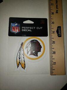 "New Washington Redskins Logo  4""x 4"" perfect Cut Decal"