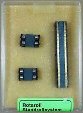 Rotaroll Standrollensystem Spur N / H0e 33093 mit 2 Rollbockpaaren TOP! mit OVP!