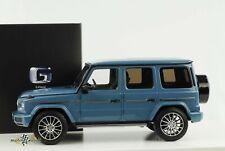 Mercedes-Benz G Klasse AMG Line W463 vintageblau 1:18 Minichamps Dealer