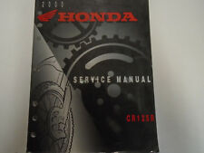 2000 Honda CR125R Bike Service Repair Shop Workshop Manual Factory OEM Book x