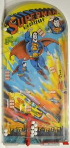 British SUPERMAN BAGATELLE Pinball Action Game 1978 Rare