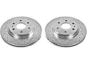 For 2009-2017 Chevrolet Traverse Brake Rotor Set Front Power Stop 58645YS 2011