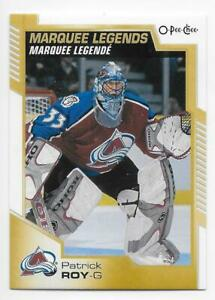 20/21 2020 O-PEE-CHEE OPC HOCKEY MARQUEE LEGENDS CARDS 531-550 U-Pick From List