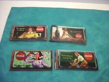 "LOT OF 45 COKE COLA ""SIGN OF GOOD TIMES"" 4 3/4"" X 2 1/2"" TRADING CARDS."