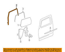 Hummer GM OEM 06-10 H3 Front Door-Run Channel Right 25903184