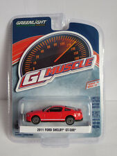 Greenlight 1:64 Muscle Series 18 - Ford Shelby GT-500 SVT 2011 red Brand new