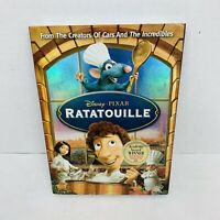 Disney Pixar Ratatouille (2007, DVD, Widescreen) w/Slipcover SEALED