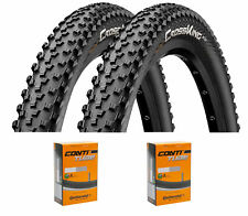 2 x continental Cross King MTB neumáticos de bicicleta 26/27, 5/29 pulgadas mangueras elegibles