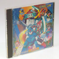 Rockman x4 Megaman PS1 Sony Japan Import PlayStation NTSC-J look somewhat used
