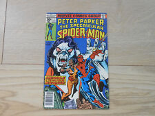 Peter Parker The Spectacular Spider-Man #7 Marvel Comics - June 1977