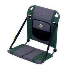 SitBacker Canoe Kayak Seat Foldable Deluxe Pad Bag Hunter Backrest Bench Strap