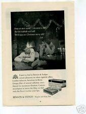 Benson & Hedges Cigarette Ad 1950's Original Vintage Ad