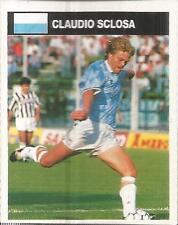 [AA] FIGURINA CAMPIONI & CAMPIONATO 1990/91-LAZIO-SCLOSA