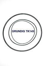 COURROIES SET GRUNDIG TK145 MAGNETOPHONE A BANDE EXTRA FORT NEUF FABRIQUE TK 145