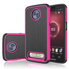 For Motorola Moto Z3/Z3 Play Phone Hybrid Rugged Rubber Hard Back New Case Cover