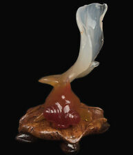 China 20. Jh. Achat Goldfisch -A Chinese Carved Agate Goldfish - Cinese Chinois