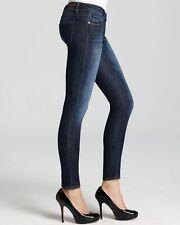 PAIGE Jeans Skyline Ankle Peg Skinny Leg in Loerlei Blue Denim sz 26