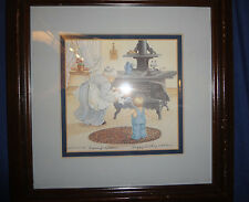 Peggy Dickey 1987 10x8 Granny's Kitchen Signed and Numbered 157/500 Picture