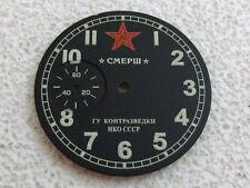 SMERSH DEATH to SPIES WWII Vintage USSR Soviet KGB 1-GChZ Watch Dial watch-face