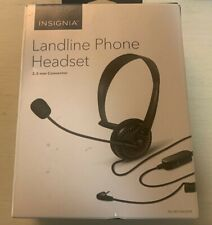 Insignia NS-MCHM25PB 2.5mm Hands-Free Headset - Black