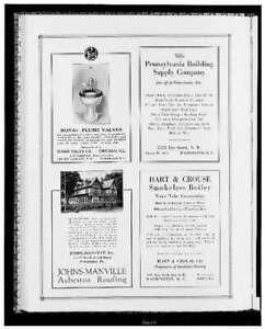 Photo:Advertisement,Sloan Valve Co,PA Building Supply Company 1742