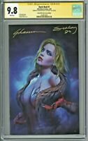 Dark Red #1 CGC 9.8 SS Comic Mint Anniversary Edition Virgin 2x Sig Maer Seeley