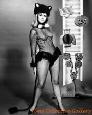 Halloween Pin-up Girl Linda Marshall - Vintage Photo Print