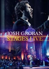 JOSH GROBAN : STAGES LIVE + BLURAY (+ CD) sealed