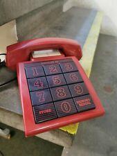 Vintage Babt 1980s Audioline 310 Telephone Funky Retro Phone