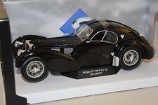 SOLIDO 1802101 - Bugatti Atlantic 57 SC Noir  1/18