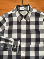 Abercrombie & Fitch Men's Casual Shirt, Small, Muscle, Gingham, EUC, F24FQ12