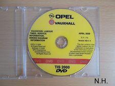 Werkstatthandbuch CD Opel TIS Agila - Zafira