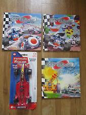 Fair Play Flag Fun Melting Miles Mac & Lauren Books HB VG Racing Car 1 Racer NEW