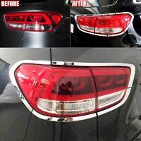 For Kia Sorento 2016-2018 Rear Tail Brake Backup Rear View Light Lamp Cover trim