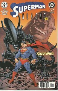 Superman Aliens II: God War #1-3 by Chuck Dixon & John Bagdanove (DC/DHC, 2002)