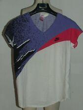Maillot T-Shirt Tennis Pôle Vintage Nike Agassi Challenge Taille L.