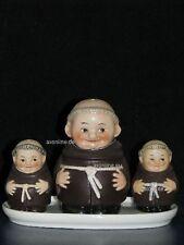 +*A014306_16 Goebel  Archivmuster, Friar Tuck Menage, Mönch Streuer u. Tablett