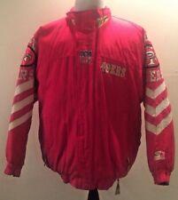 Vtg Starter Jacket San Francisco 49ers Men M NFL Football Coat 90's vintage EUC