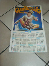 CALENDARIO 1983 Gianburrasca Alvaro Vitali Marisa Merlini Mario Carotenuto FILM