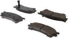 Disc Brake Pad Set-Premium Semi-Met Pads w/Shim and Hardware Front Centric