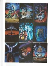 Lee Macleod Tekchrome Card Sub Set of 10 Cards Non-Sport Cards