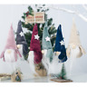 Christmas Flannelette Faceless Doll Santa Xmas Tree Hanging Ornament Party Decor