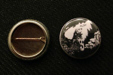 """AD&D Smoking Wizard on D6 1"""" pin button 1st Edition Trampier - Buy 2 Get 1 Free"""
