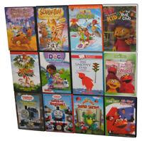 Kids Children Cartoons Movie DVD Lot - 12 DVDs - (Scooby-Doo / Sesame Street / S