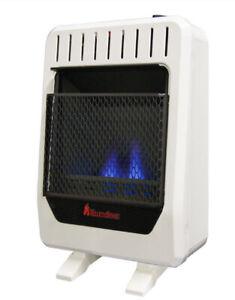 NEW HearthSense BF10M-B 10,000 BTU Ventless Dual Fuel Blue Flame Heater NEW