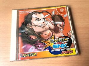 USED FOR SEGA DREAMCAST DC GAME DISC CAPCOM VS SNK PRO